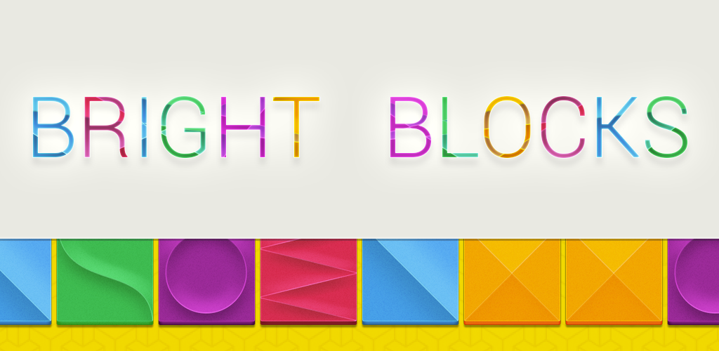 bright blocks fast-paced android game