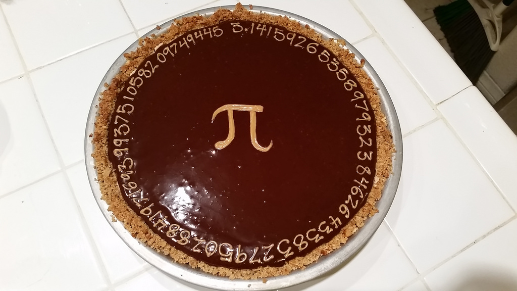 happy pi day pie