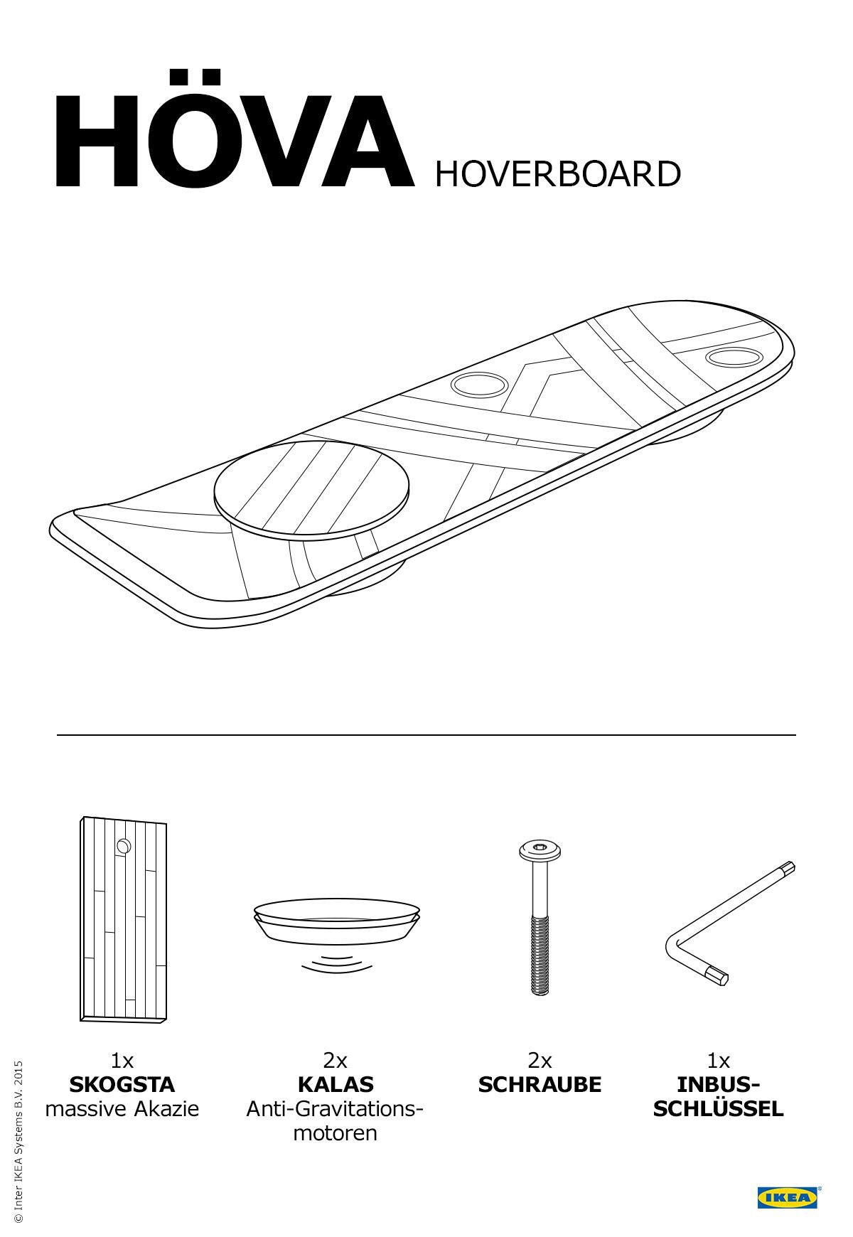 hoverboard assembly instructions