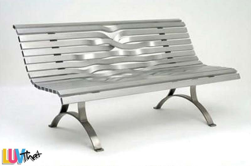 25 beautiful benches luvthat Aluminum benches