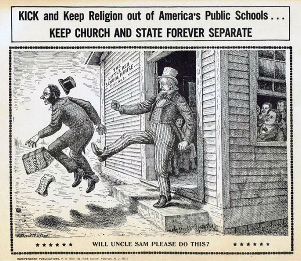 Keep church out of schools