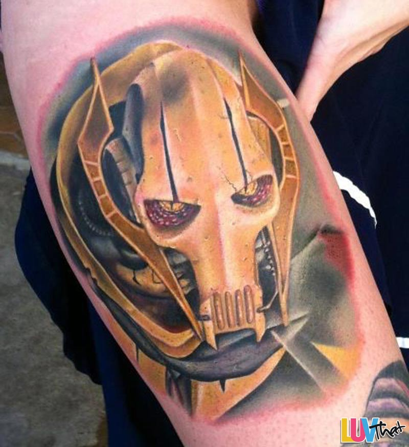 StarWars General Grievous tattoo