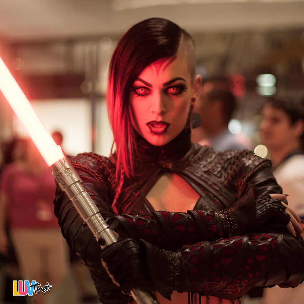amazing female sith cosplay