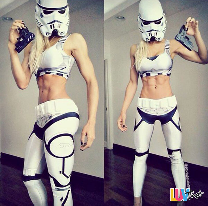 super fit storm trooper