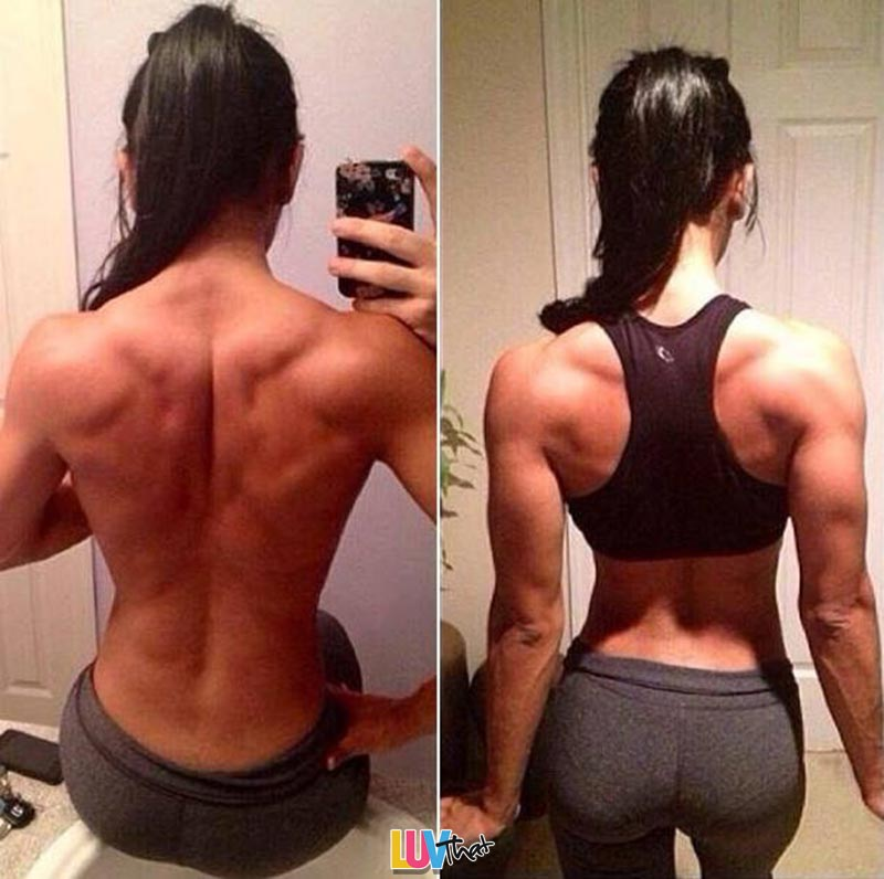 Back Day Fitness Inspiration for women