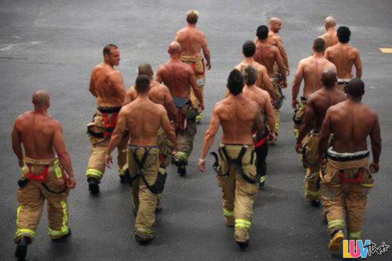 Back Day Gym Fitness Inspiration Firefighters