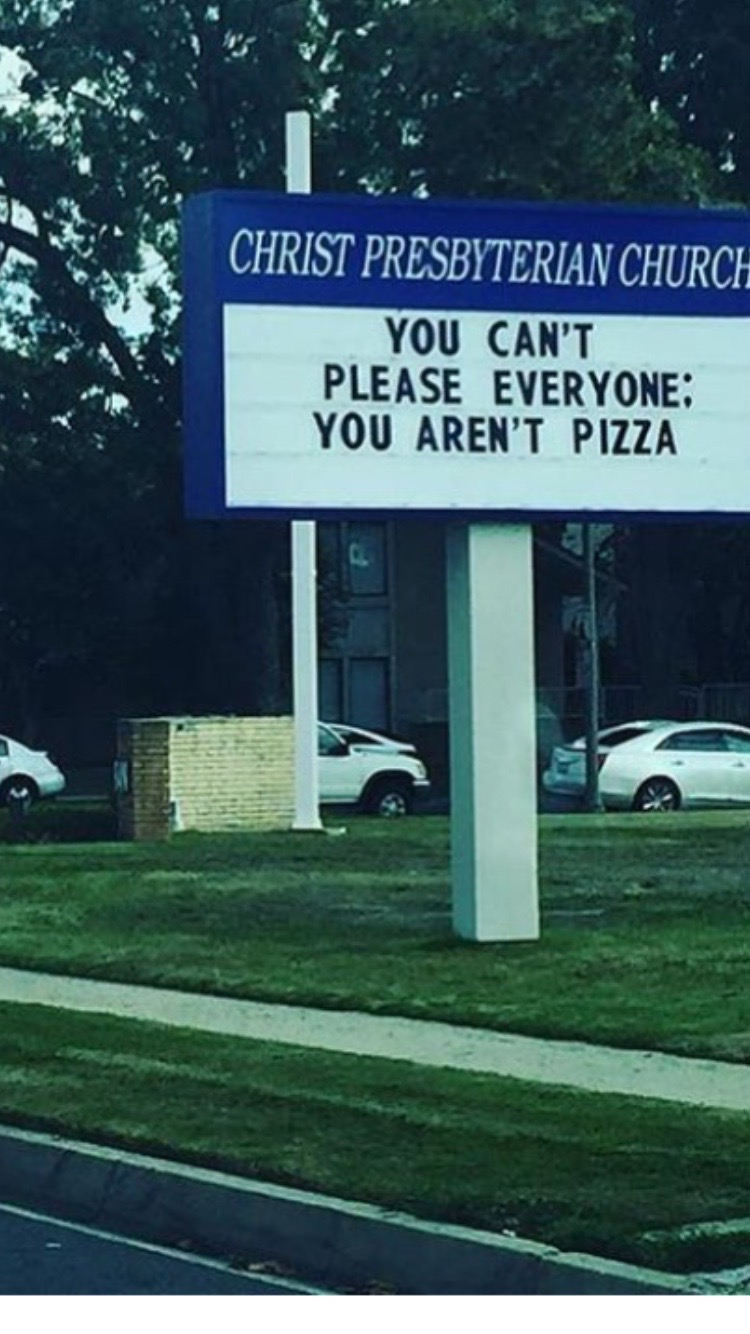 you arent pizza